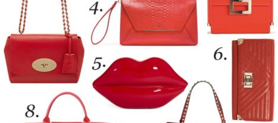 Stylish Red Bag Range