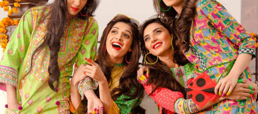 Mawra Hussain & Sadia Khan Photoshoot for Kayseria