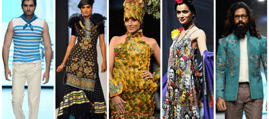Pakistani Ramp Fashion: Wonderful or Weird?