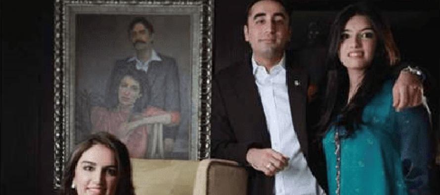 Bhutto-Zardari Sibling's Interview in Hello! Magazine