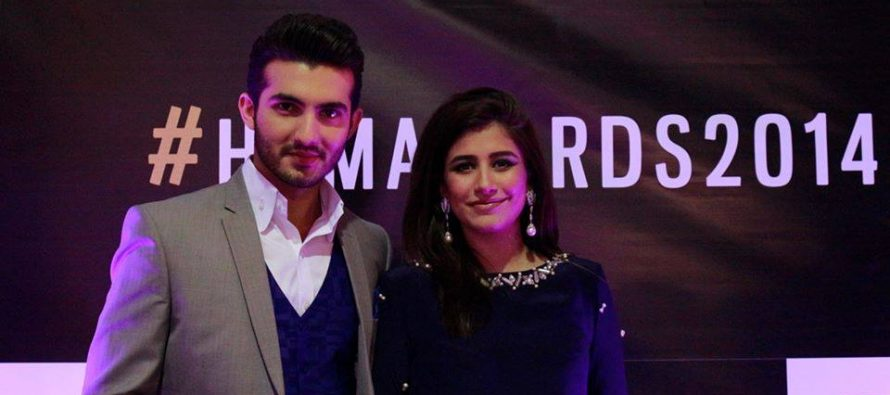 Pakistani Artists at HUM Awards Main Event.