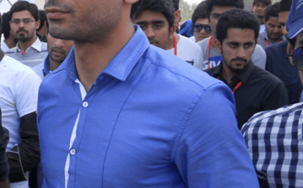 Fawad Khan Inaugurated the 'The Lahore Auto Show-2014'