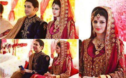 Gohar Mumtaz & Anam Ahmed Wedding Pictures.