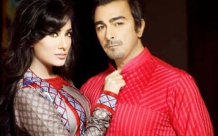 Shaan and Mehwish Hayat as brand ambassador for 'House of Ittehad'