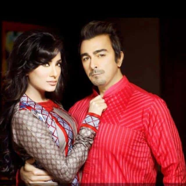 Shaan and Mehwish Hayat as brand ambassador for 'House of
