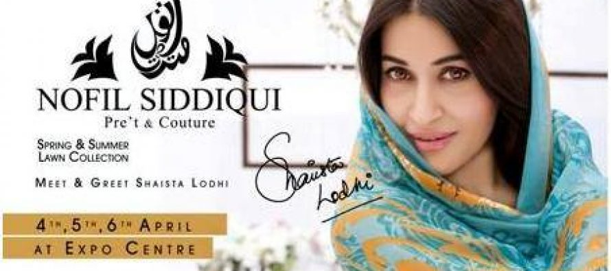 Launch of Nofil Siddiqi Lawn and Pret collection in Karachi