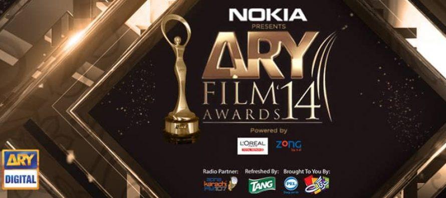 ARY Film Awards to be held tonight in Karachi
