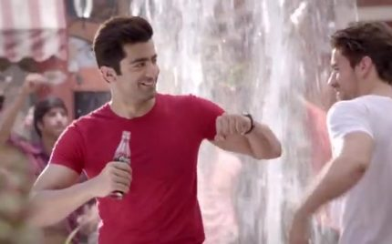 Sheharyar Munnawar in Coca-Cola Summer 2014 Commercial