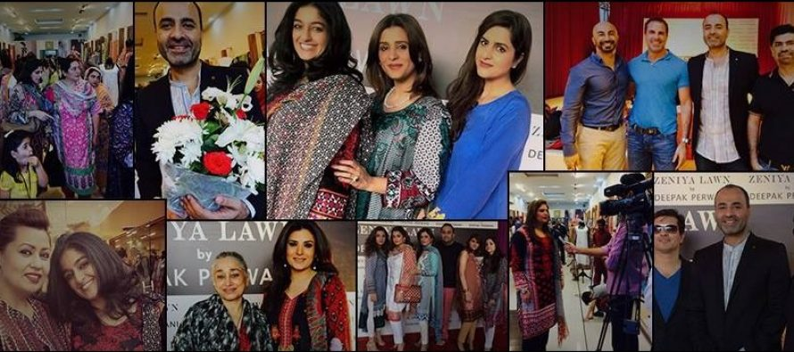 Launch Of Zeniya Lawn By Deepak Perwani – Pictures