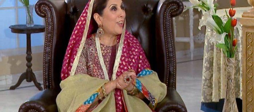 On the sets of drama Adhura Milan