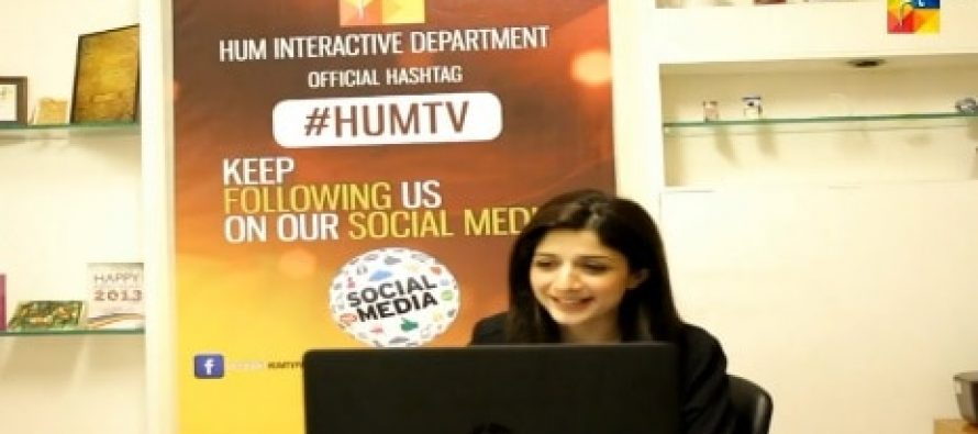 Live Chat With Mawra Hocane