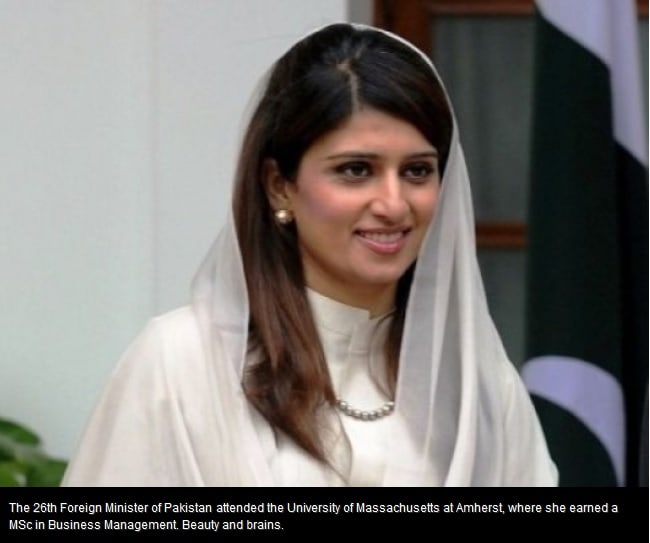 Imran Khan and Hina Rabbani Khar Are The Most Attractive Pakistani Politicians