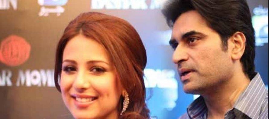 Rumors of Ushna Shah and Hamayun Saeed's Affair