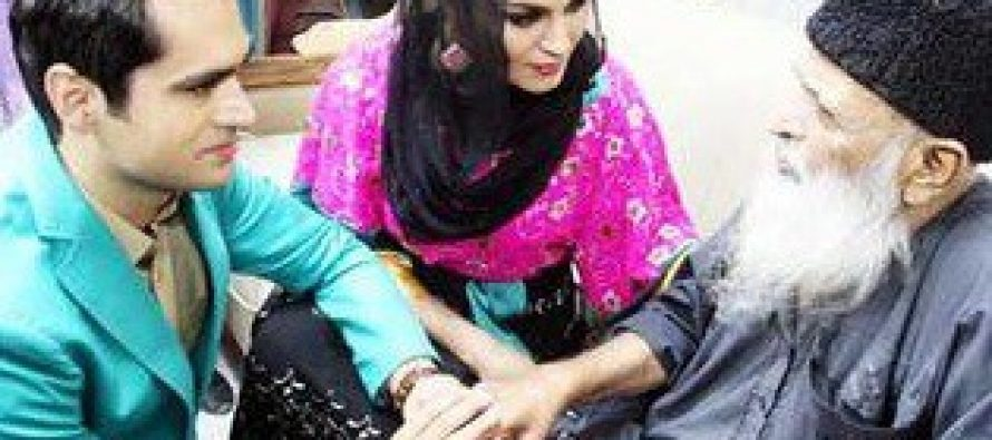 Veena Malik Offers To Donate Her Kidney To Edhi Sahab