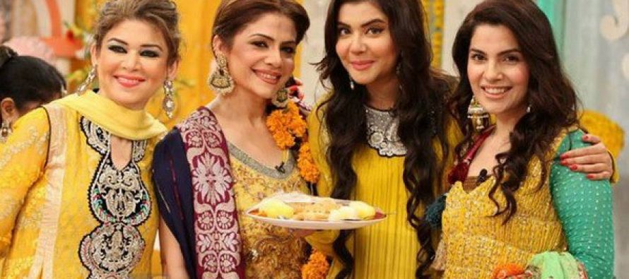 The Qawwals On ARY Sang ' Ali ke Saath hai Zahra ki Shaadi' On Good Morning Pakistan