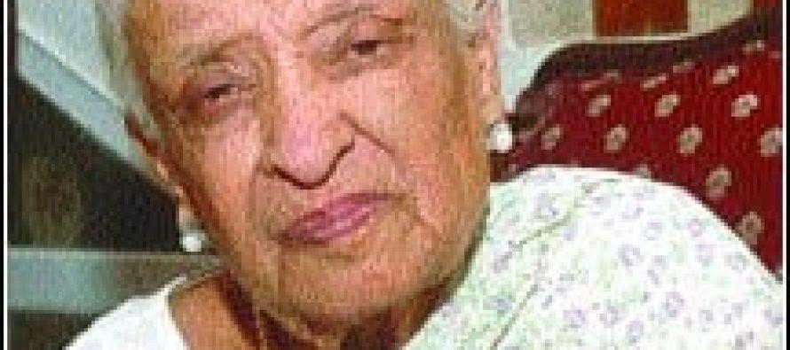 Fatima Surraya Bajiya hospitalized