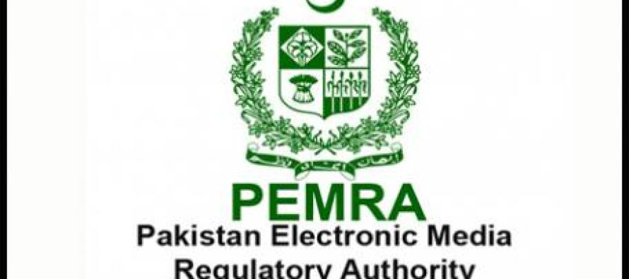 PEMRA suspended the licence of Geo Entertainment and ARY News
