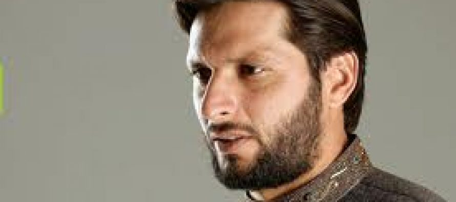 Shahid Afridi to organize a cricket match to help IDPs
