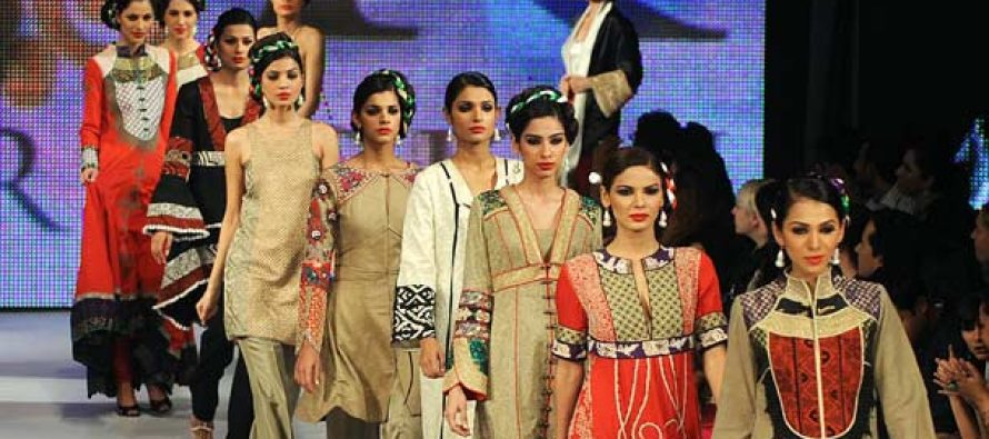 Colors of Pakistani fashion designers in London