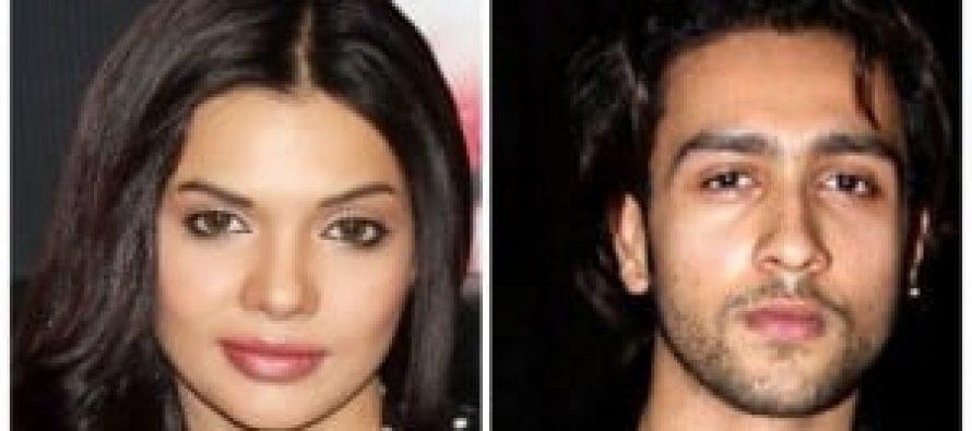 "Sara Loren opposite Adhyayan Suman in ""Ishq Click"""