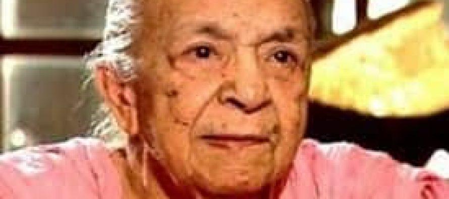 Zohra Sehgal passed away
