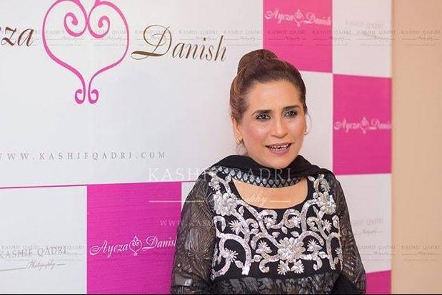 Ayeza Khan and Danish Taimoor's Mehndi's Red Carpet Pictures