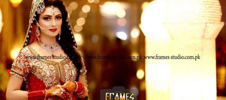 Ayeza Khan and Danish Taimoor- Baraat's Official Photoshoot