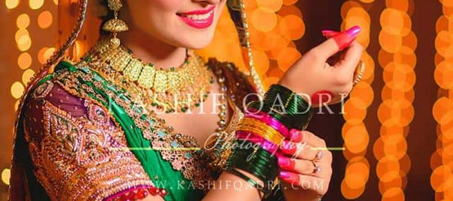 Aiza Khan's Mehndi Photoshoot