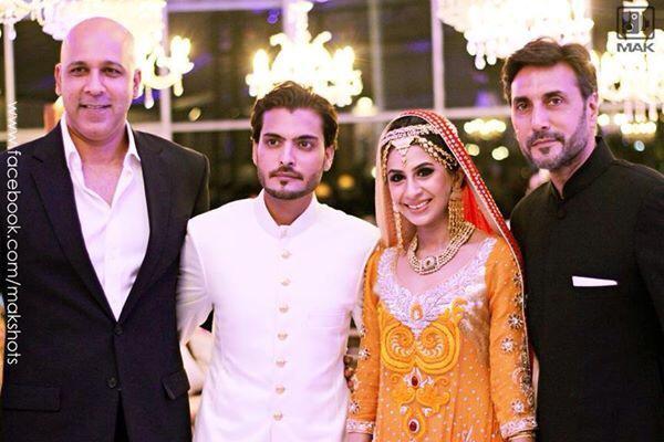 Asad Siddiqi tied the knot