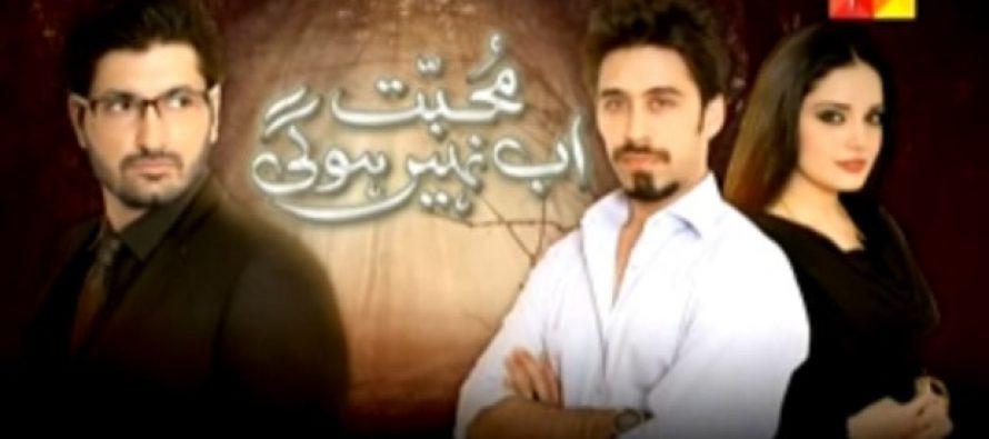 Muhabbat ab nahi hogi-1st episode review
