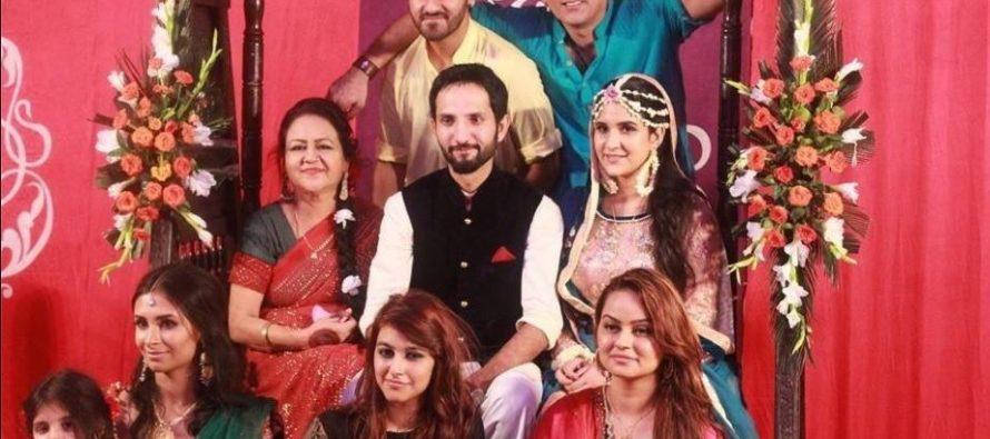 Anoushay Abbasi Dholki Pictures