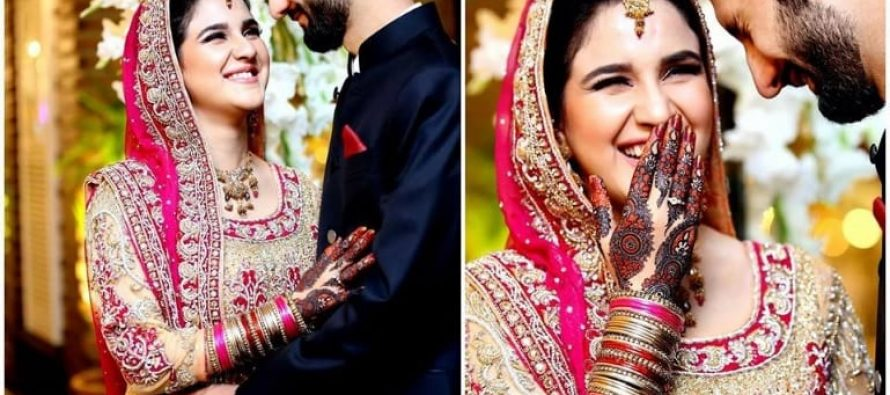 Anoushay Abbasi's Baraat Pictures