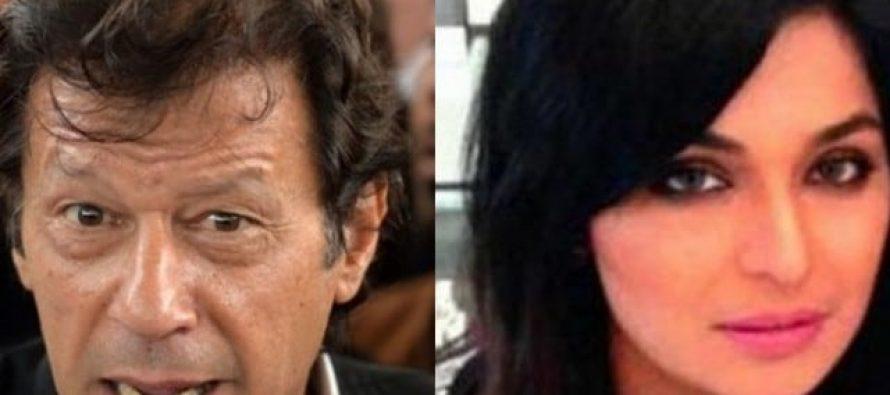 Imran Khan responds to Meera