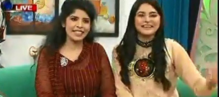 Oops – Sajjid Hassan's Wife's Live Bloopers!