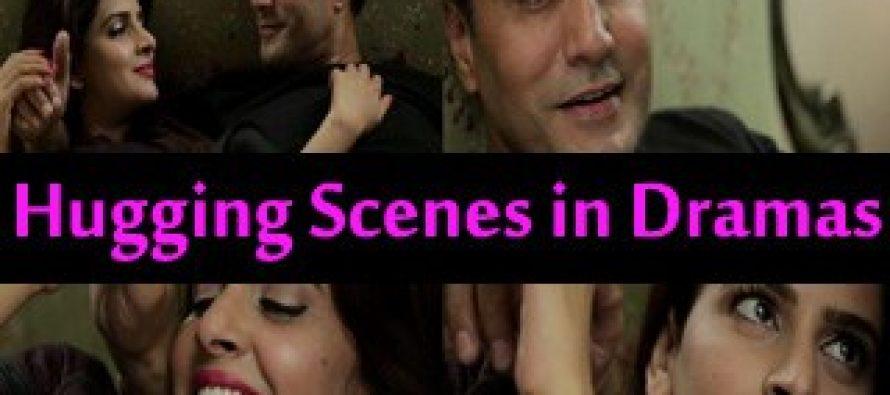 Saba Qamar & Adnan Siddiqui Hugging Scenes on APLUS drama Janam