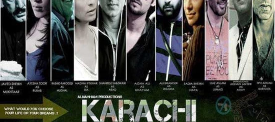 "Upcoming Film ""Karachi"" Teaser"