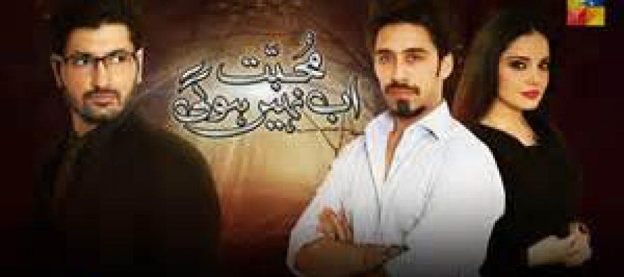 Mohabbat Ab Nahi Hogi- The end