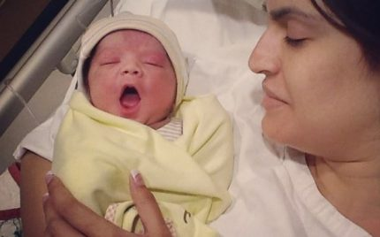 Nadia Hussain Blessed With A Baby Boy