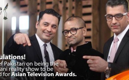 MasterChef Pakistan nominated in Asian Television awards