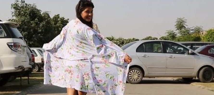 What Is This Woman Doing? Must Watch Video
