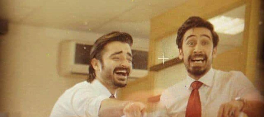 Hamza Ali Abbassi and Ali Rehman Khan in a music video