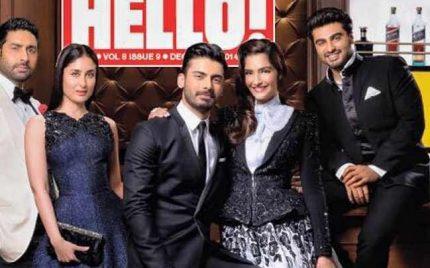Fawad Khan In Hello! Super Acheiver's List