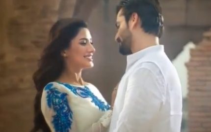 Hamza Ali Abbasi And Mehwish Hayat Looking Charming In New Commercial