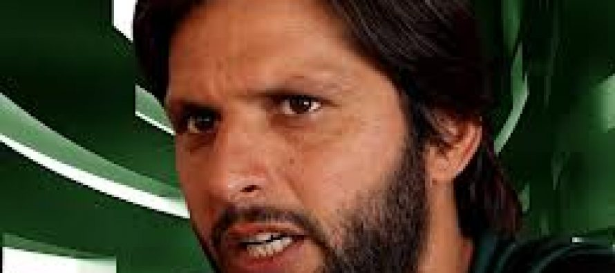 Shahid Afridi and other cricketers in a new commercial