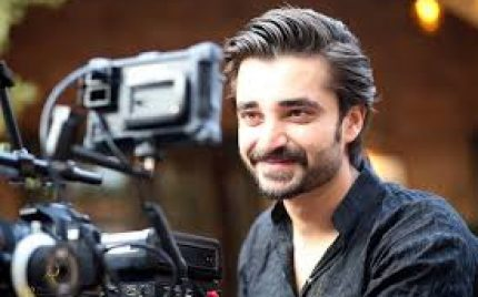Hamza Abbasi and Mehwish Hayyat in a commercial