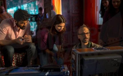 Pictures from shooting of Ho Mann Jahan