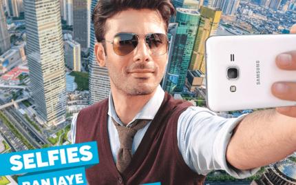 Fawad Khan, brand ambassador for a mobile phone