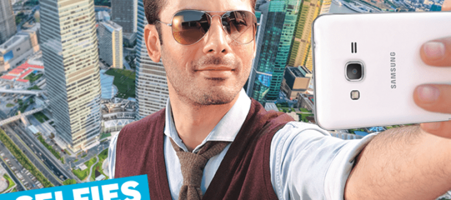 Fawad Khan, brand ambassador for a mobile phone