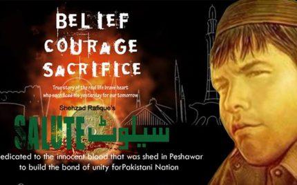 Salute, a tribute to Aitzaz Hassan