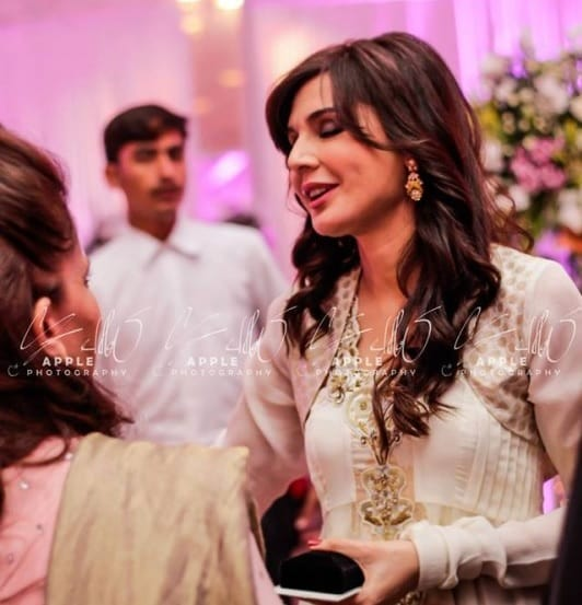 Pakistani beautiful famous celebrities who got married at ... |Mahnoor Baloch Daughter Wedding Pics